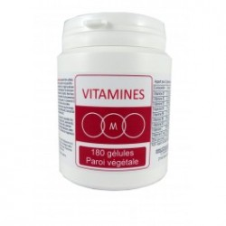 vitamines 180 gélules
