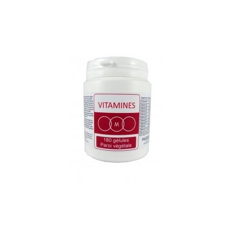 vitamines 180 gélules
